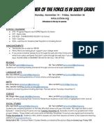 Agenda 11-14 - 18