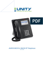 Avaya 9621 & 9641 Ip User Guide