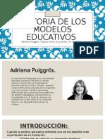 Historia de Los Modelos Educativos