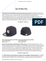 The Different Styles of New Era – Village Hats' Blog