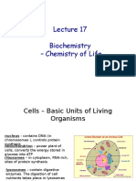 Chem 102 Lecture 17-18 Biochemistry f 2016