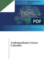 CSE BUET UG Course Calendar 2016