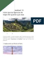 Expectativa vs Realidad- 10 Fotos Que Las Agencias de Viajes NO Quieren Que Veas