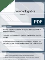 International Logistics Introduction
