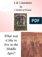 Medieval History, Culture, And Literature