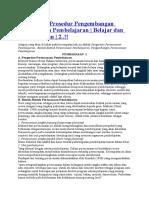Bentuk dan Prosedur Pengembangan Perencanaan Pembelajaran.docx