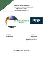 Trabajo de Contaminacion Organica 1