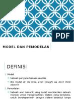 Model Dan Pemodelan