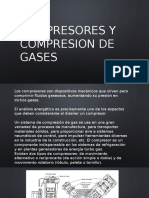 Compresores y Compresion de Gases
