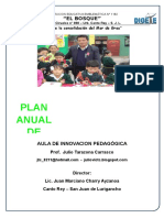Plan Anual de Aip