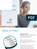 HTML5 Next Generation