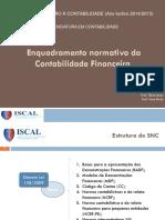 [03] Enquadramento Normativo Da Contabilidade Financeira