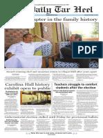 The Daily Tar Heel for Nov. 14, 2016