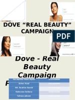 Dove Real Beauty Ppt