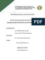 Proyecto de Investigacion fgg