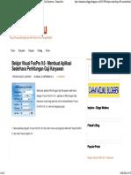 Contoh Aplikasi Perhitungan Gaji Visual FoxPro 9