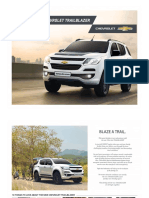 The New 2017 Chevrolet Trailblazer Brochure