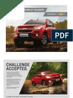 The New 2017 Chevrolet Colorado Brochure