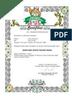 Form Sertifikat PKL