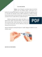 Glucose Sensor