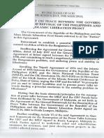 Tripoli Agreement of 2001