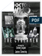 Doctor Who Unofficial Solitaire Game, by Simon Cogan