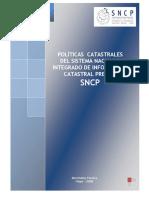 Politicas CatastraLes