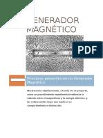 Generador magnético