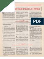 1981 110 Propositions Pour La France