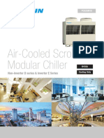 PCXZAM15 Air-Cooled Scroll Modular Chiller