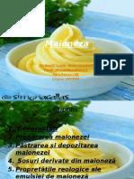 Reologie Emulsie Maioneza