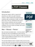 Introducing PHP Classes - Codular