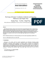 The Design of Dynamic Coordination Architecture and Supporting 2011