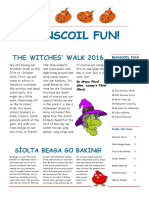 halloween newsletter 2016