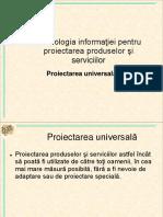 Proiectarea Universala