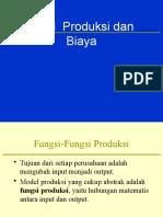 Bab Produksi Dan Biaya