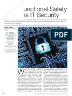 Plant Functional Safety Requires IT Security