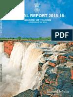 Annual Rreport 2015-16 on Tourism