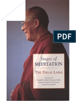 Stages of Meditation the Dalai Lama