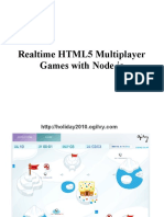 Realtime HTML5 Multiplayer Games With Node Js