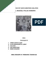 Cerita Rakyat Dari Sumatera Selatan