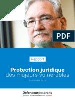 Rapport du défenseur des droits personnes vulnerables