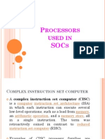 Processors Used in SOCs