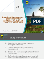 Chapter 21 Inventory Management