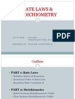 3.Rate Laws and Stoich_CHAPTER 3