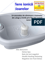 Detoxifiere Ionică a Picioarelor