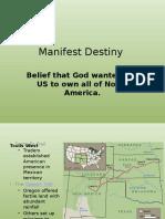 ch 5 manifest destiny