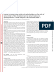 Effekt Av Fettsyror Och Kolh p HDL