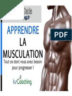Apprendre La Musculation e Book KsCoaching