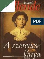Isabel Allende a Szerencse Lánya
